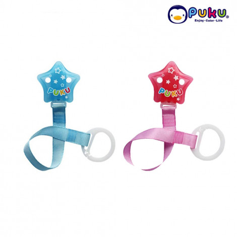 Puku Pacifer Chain 11115 Star Stripe