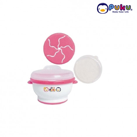 Puku Baby Food Grinder Set (3in1) 14318-Pink