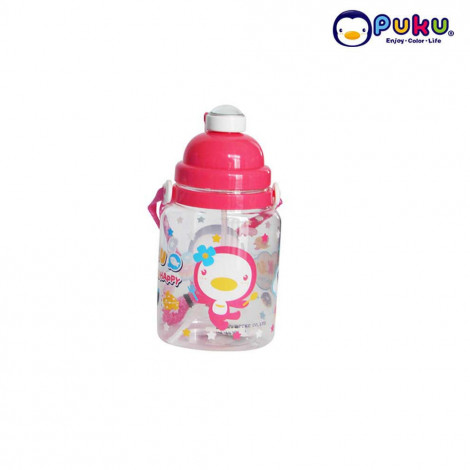 PUKU Botol Minum One-touch Open 800 cc P14603 Pink