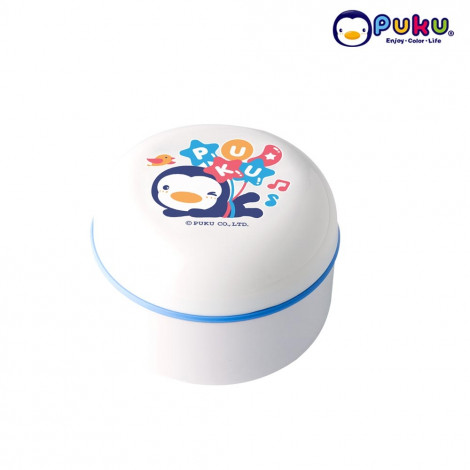 Puku Powder Case w/o puff 16302-White