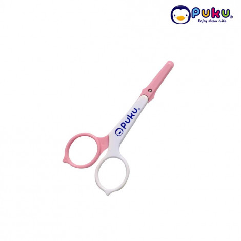 Puku Baby Safety Scissors 16701-Pink