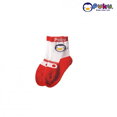 Puku Baby Sock 27018 (0-12 Month) - Red