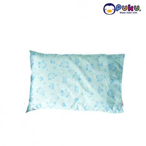 Puku Baby Pillow (L) With Pillow Case - SP91103 Blue