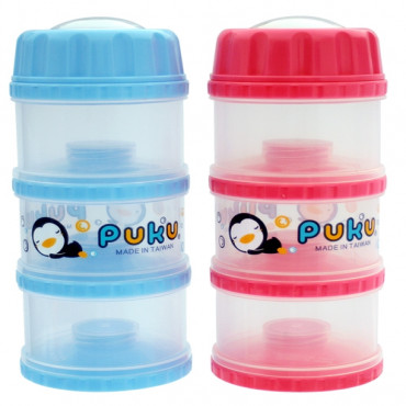 Puku Milk Powder Container 120 cc - 11012 RED
