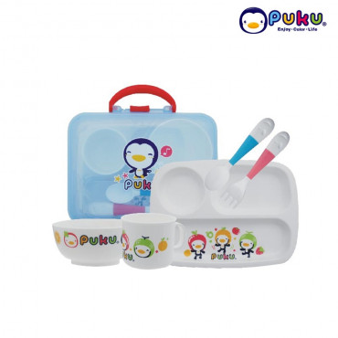 Puku Tableware Set with casing - P14405