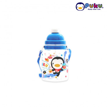 Puku One Touch Canteen (800cc) 14614-Blue