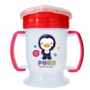 Puku Drinking Training Cup 180 cc (8Month) - 14714 RED