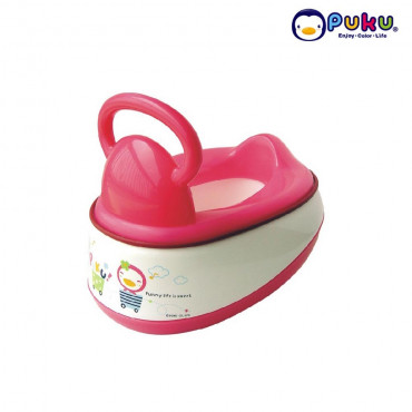 Puku Baby Potty (5in 1)10mth-2year 17403--Pink