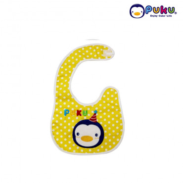 Puku Baby Bib 26225-Yellow
