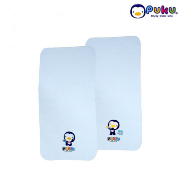 Puku Baby Wash Cloths - 26704 (2 pcs) Blue