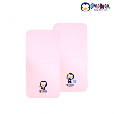 Puku Baby Wash Cloths - 26704 (2 pcs) Pink