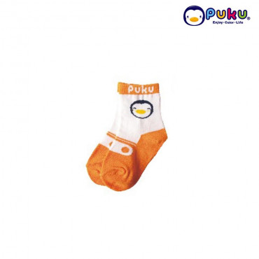 Puku Baby Sock 27018 (0-12 Month) - Orange