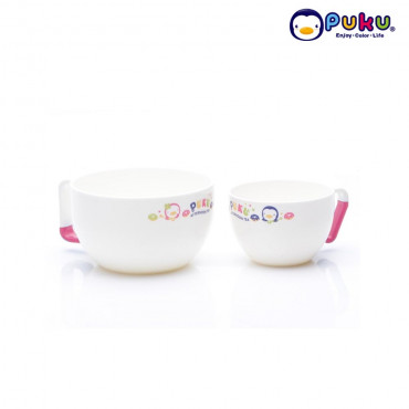 Puku Bowl Big & Small (Isi 2) 30510-30511