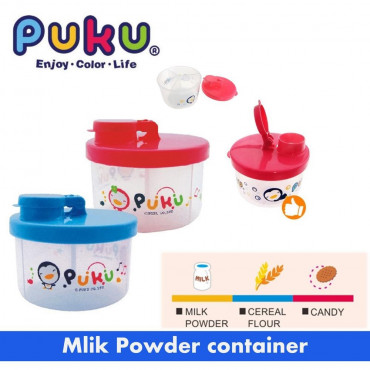 Puku Milk Powder Container P11011 - Merah