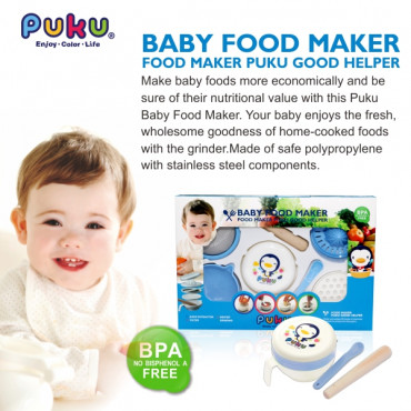 Puku Baby Food Grinder Set 14101