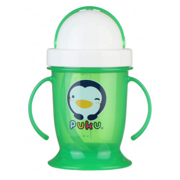 Puku 0511 Training Cup With Straw 200 ML - Green